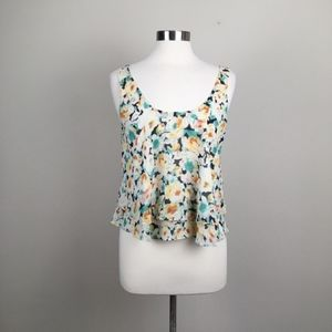 3 for $15 I Soprano floral ruffle top